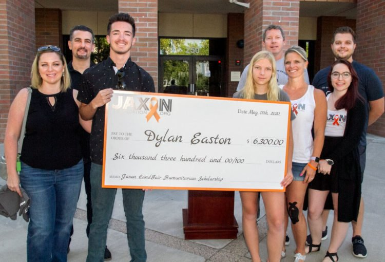 Dylan Easton & Parents with Jay, Jessica Landfair & family