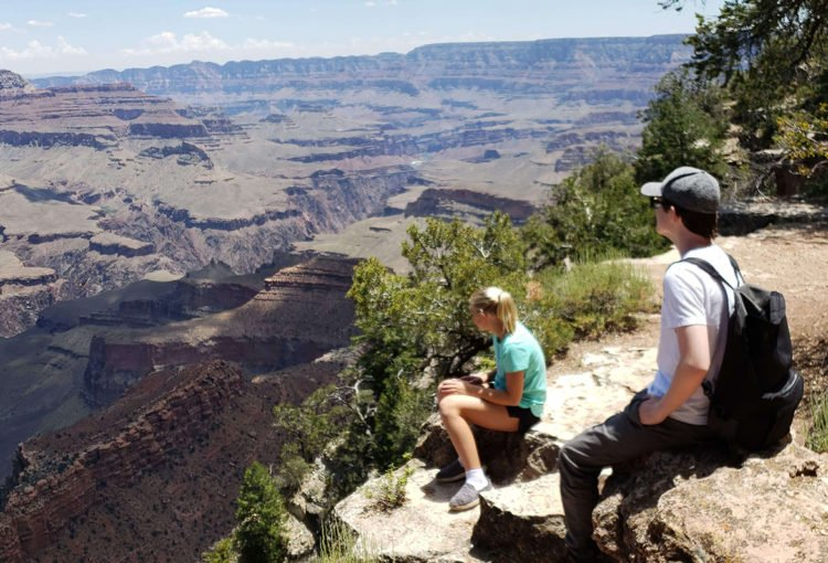 Quick trip to Grand Canyon before Jaxon's scheduled bone marrow transplant