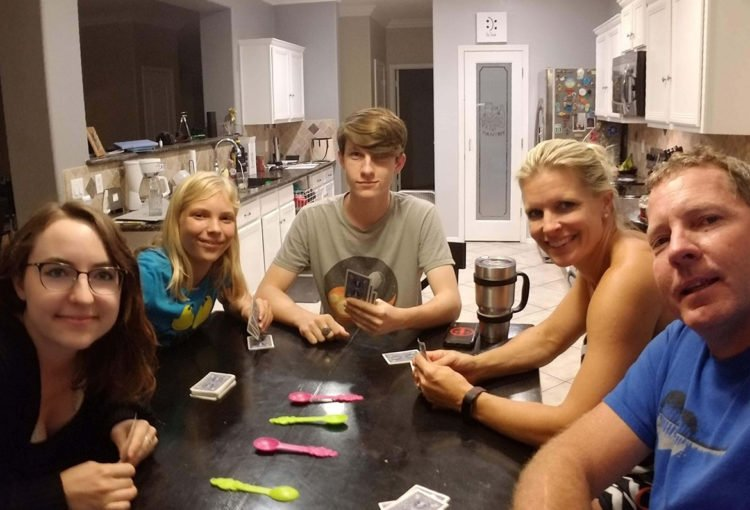 Family game night October 2018