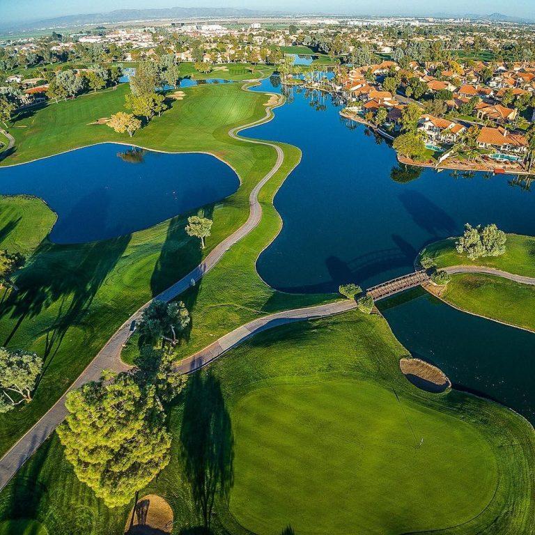 Ocotillo Golf Club - Fly Over