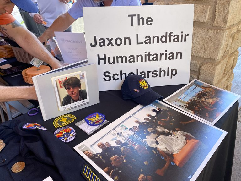 Honoring Jaxon